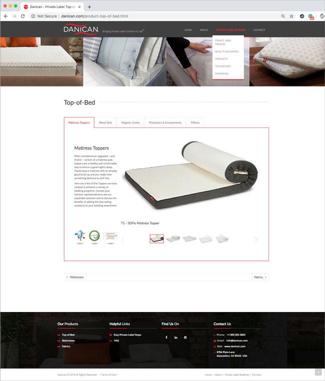 Web design San Luis Obispo - Danican Website Design - Award Winning Website Design - SEO Ranking - Studio 101 West Web Design