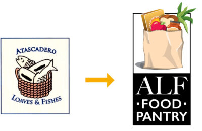 Logo Design - San Luis Obispo Graphic Design - Paso Robles Graphic Designer - ALF Food Pantry Logo Design - Studio 101 West Marketing & Graphic Design