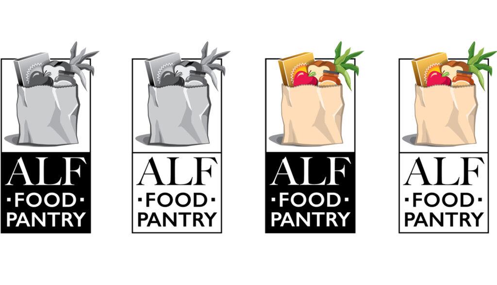 Logo Design - Logo Designer - Atascadero Food Pantry Logo Design - ALF Logo Design - Graphic Design Firm - Graphic Designer - Brand design - Studio 101 West Marketing & Graphic Design