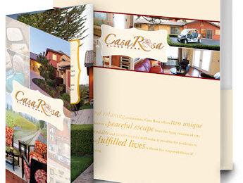 Brochures - Folder Packaging - Print Material for Business - Studio 101 West Marketing & Design