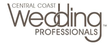 Central Coast Wedding Professionals - CCWP - Studio 101 West Marketing and Design