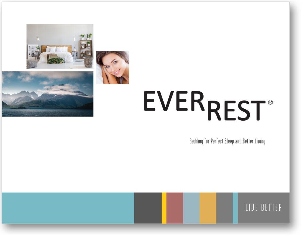 EverRest Brand Awareness Brochure - Product Features Brochure - Graphic Design - Award Winning - American Advertising Awards 2021 - Studio 101 West Graphic Design
